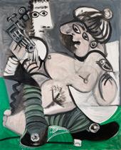Couple a la Guitare By Pablo Picasso