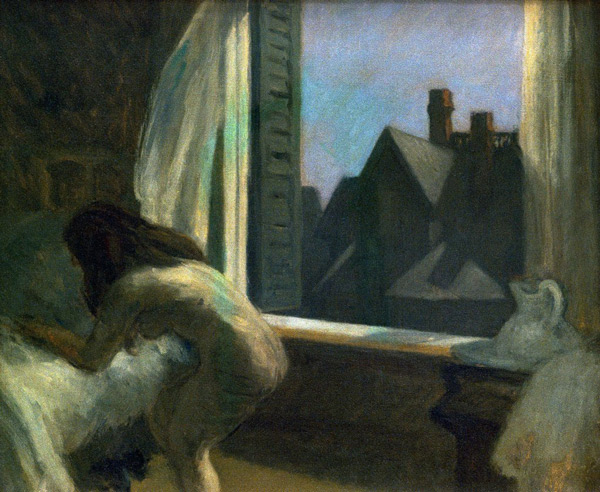 Moonlight Interior 1932 by Edward Hopper | Oil Painting Reproduction Replica On Canvas - Reproduction Gallery