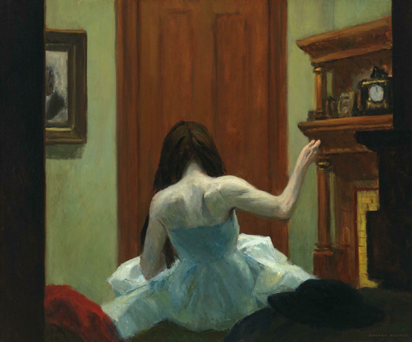 New York Interior 1921 by Edward Hopper | Oil Painting Reproduction Replica On Canvas - Reproduction Gallery