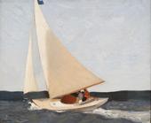 Sailing 1911 By Edward Hopper