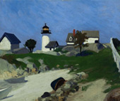 Squam Light By Edward Hopper