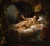 Danae 1636 By Rembrandt Van Rijn