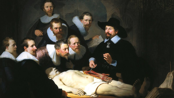The Anatomy Lesson of Dr NicholaesTulp by Rembrandt Van Rijn | Oil Painting Reproduction Replica On Canvas - Reproduction Gallery