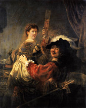 The Prodigal Son in a Brothel By Rembrandt Van Rijn