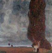 Big Poplar II 1903 By Gustav Klimt