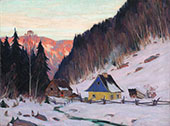 A Laurentian Homestead c1919 By Clarence Cagnon