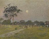Evening Templestowe 1897 By David Davies