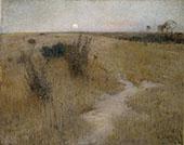 Moonrise 1885 By David Davies