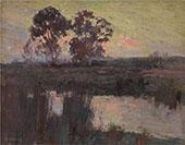 Nocturne Templestowe 1896 By David Davies