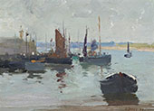 St Ives 1893 By David Davies