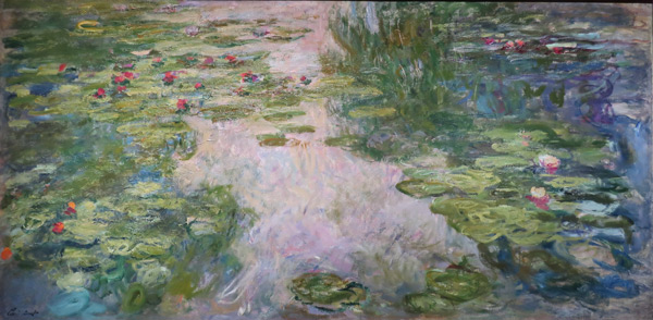 Water Lilies c 1917 by Claude Monet | Oil Painting Reproduction Replica On Canvas - Reproduction Gallery
