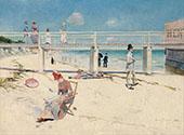 A Holiday at Mentone 1888 By Charles Conder