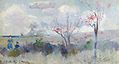 Herricks Blossoms By Charles Conder