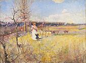 Springtime c1900 By Charles Conder