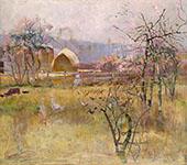 The Farm Richmond 1888 By Charles Conder