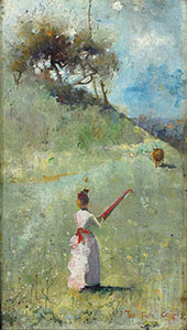 The Fatal Colours 1888 By Charles Conder