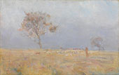 While Daylight Lingers By Charles Conder