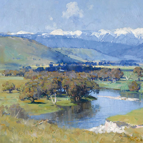 Oil Painting Reproductions of Arthur Streeton