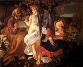 Rest on the Flight into Egypt c1597 By Caravaggio