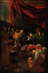 Death of the Virgin c1601 By Caravaggio