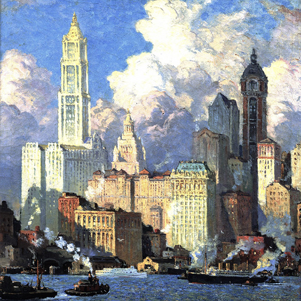 Oil Painting Reproductions of Colin Campbell Cooper