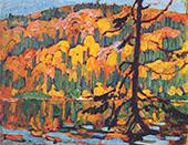 Autumn Algoma By J.E.H. MacDonald