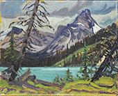 Distant Mountain By J.E.H. MacDonald