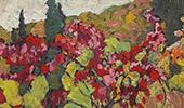 Maple Boughs Algoma By J.E.H. MacDonald