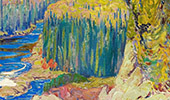 Montreal River 1920 By J.E.H. MacDonald