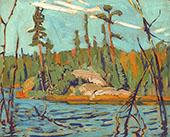 Moose Lake Algoma 1920 By J.E.H. MacDonald