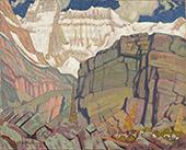 Mount Lefroy 1932 By J.E.H. MacDonald