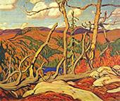 Northland Hilltop 1931 By J.E.H. MacDonald