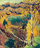 October Gold By J.E.H. MacDonald