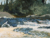 Spring Rapids By J.E.H. MacDonald