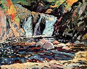 The Little Falls 1918 By J.E.H. MacDonald