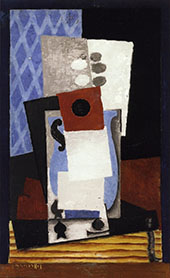 Jug and Card By Louis Marcoussis