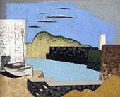 Kerity Landscape By Louis Marcoussis