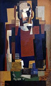 l'Habitue 1920 By Louis Marcoussis