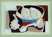 Pomegranates 1926 By Louis Marcoussis