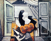 Still Life V By Louis Marcoussis