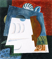 Still Life with Envelope By Louis Marcoussis