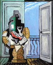 Still Life with Window By Louis Marcoussis