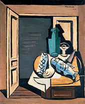 The Open Door By Louis Marcoussis