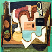 The Zither By Louis Marcoussis