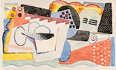 Untitled 1919 By Louis Marcoussis