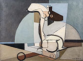 Untitled Composition By Louis Marcoussis