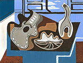 Untitled Still Life 1929 By Louis Marcoussis