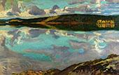 Lake Ruovesi By Akseli Gallen Kallela