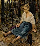 Lost By Akseli Gallen Kallela