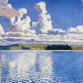 Pilvi Tornit 1904 By Akseli Gallen Kallela